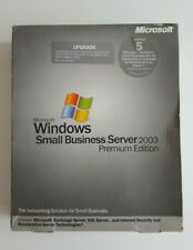 Microsoft Windows Small Business Server 2003 Premium Edition (5 Client/s)