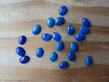 Cabochon Gemstone Lapis Lazuli Grade A quality  5x7 mm  (Qty 20)