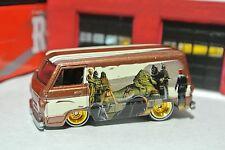 Hot Wheels '66 Dodge A100 Van - Real Riders - Gold - HW Star Wars