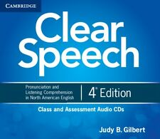 Clear Speech Class and Assessment Audio CDs (4): Pronunciation and Listening Co.