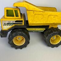 Tonka Vintage Pressed Steel Mighty Diesel Yellow Dump Truck