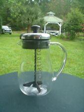 BODUM Chocolatiere Hot Chocolate Milk Maker Glass w Frothing Spinning Stirrer