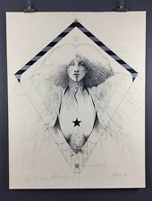 "Ramon Santiago ""Kite Poster"" 1980, 24x36 Inches, Excellent Condition!"