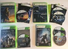 Halo 3 ODST 4 Reach Lot Of 4 (Microsoft Xbox 360) All Tested And Working!