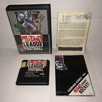 Sega Genesis Game MUTANT LEAGUE FOOTBALL Complete in Box CIB Manual/Box/POSTER