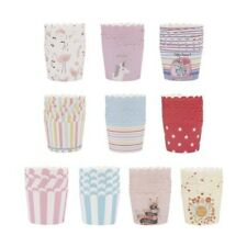 50 x Paper Cupcake Liners Cake Cup Baking Wedding Muffin Cases Decorating Great