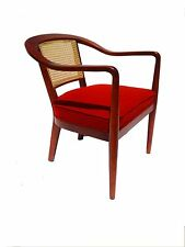 MID CENTURY DANISH MODERN ARMCHAIR RESTORED ATTRIBUTED TO EDWARD WORMLEY  DUNBAR