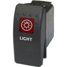 Rocker switch 713 red 12V Daystar ARB LIGHT marine nautical navigation night