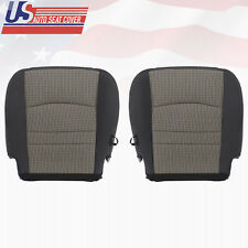 2011 2012 Dodge Ram 1500 2500 SLT Driver/Passenger Bottom CLOTH Seat Cover Gray