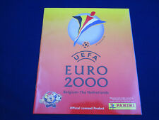 Panini EM Belgium Nederland Euro 2000, empty album/Leeralbum, gut/good, not mint