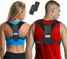 Posture Corrector for Women & Men + Bonus Underarm Pads, Adjustable Clavicle Bra