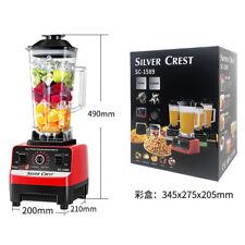 More details for 3000w 2l commercial blender food processor mixer smoothie juicer ice crusher uk