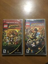 PSP Lego Indiana Jones The Original Adventures And The Adventure Continues Games
