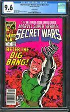 SECRET WARS #12 NEWSSTAND CGC 9.6 CANADIAN VARIANT MARVEL SUPER HEROES DR. DOOM