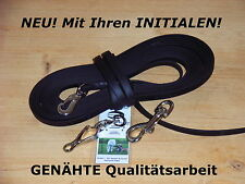10m BioThane Schleppleine Sprenger schwarz 13mm Schweissleine Fährtenleine