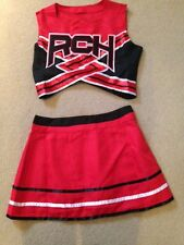 Womens/ladies Cheerleader Costume/outfit. Bring It On Style Size L  U.K. 10-12
