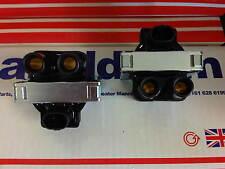 Fiat Punto MK1 MK2 1.2 8V 2X Nuevo Bobinas de Encendido Paquetes 1994-2005