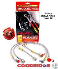 Golf Mk4 R32 Goodridge Braided Brake Hoses 4WD: G6.2 - SVW0608-4P 4 Line Kit VW