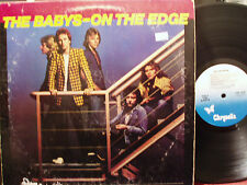 The Babys - On The Edge LP VG- Condition