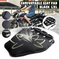 M-XL Aufblasbares Motorrad Sitzkissen Fahrrad 3D für Honda Kawasaki BMW