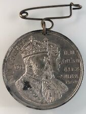 ANTIQUE EDWARD VII 1902 BRENTFORD CORONATION MEDAL