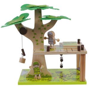 NEW Tiger Tribe Kit Pax Tree House Childrens Art Craft Activity
