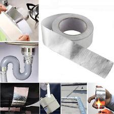 Industrial 25m Car Exhaust Pipe Insulation Aluminum Foil Tape Heat-resistant US