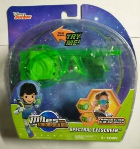 Miles from Tomorrowland Spectral Eyescreen Color Change. Disney Junior Brand New