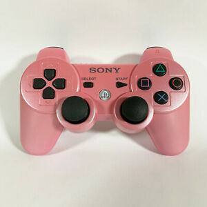 Genuine OEM Playstation 3 PS3 Candy Pink DualShock 3 Wireless Controller TESTED