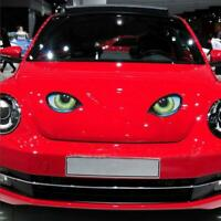 3D Cat Eyes Design Window Decal Car Sticker Vinyl Funny Waterproof Auto Decal
