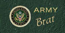 Army Brat License Plate -LP120B