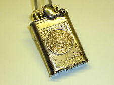 "VULCANO SOLID SILVER LIGHTER W. ISLAMIC COINS - ""KICKSTARTER"" - WW2 -EAST AFRICA"