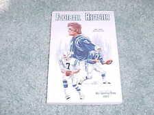 1977 NFL Football Register Media Guide Baltimore Colts Bert Jones Cover