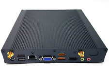 Industrial Fanless Rugged Atom Computer Mini ITX AG150 Win7  Low Profile HTPC PC