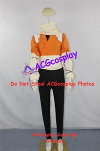 Bleach Urahara Yoruichi Shihouin Cosplay Costume Orange Jumper Cosplay Costume