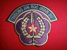 "Vietnam War ARVN Military Training Academy ""TRUONG DAI HOC QUAN SU"" Patch"