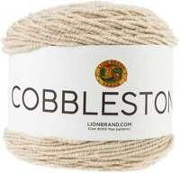 Lion Brand Cobblestone Yarn Misty Rose 023032056098