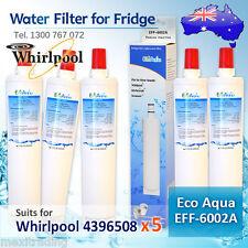 4396508 (5PACK )WHIRLPOOL FRIDGE FILTER  REPLACEMENT  ECO AQUA