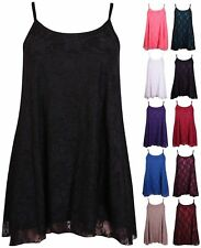 Scoop Neck Lace Tops & Shirts Plus Size for Women
