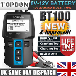 BRAND NEW! 12 Volt Vehicle Battery Analyzer Tester Charging Cranking System Load