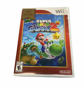 Nintendo Selects: Super Mario Galaxy 2 (Wii, 2016) Complete With Manual