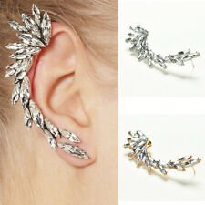 2016 Fashion Rhinestone Ear Cuffs Jewelry Clip On Earrings For Women Girl MO