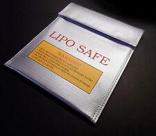Lipo Akku Tasche Ladetasche Safe Bag 18x22cm Feuerfeste Sicherheitstasche Schutz