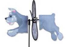SCHNAUZER Puppy Dog Wind Spinner Premier Petite Garden