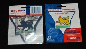 Official Arsenal Premier League 2001/02 Lextra Badge/Patch Player Fuse On