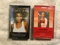 Lot of 2 Whitney Houston CASSETTE TAPES-Self Titled S/T & Whitney