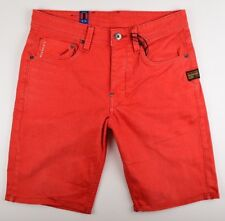 G-Star Raw , jeans Shorts ATTACC, gr. W31 rot 1/2 Shorts Neuf