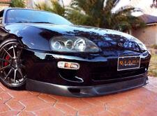 Toyota Supra WW Style CARBON FIBRE Front Lip / Splitter v5