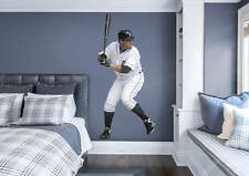 "Miguel Cabrera At Bat FATHEAD Tigers LIFESIZE ONLY 3'3"" x 7'1"" MLB Wall Graphics"