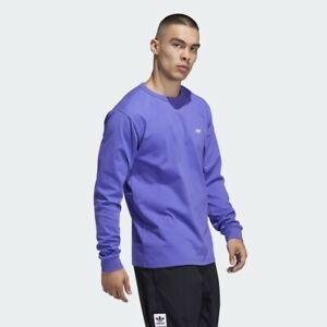 Adidas Men's Shmoo Long Sleeve Tee, Purple